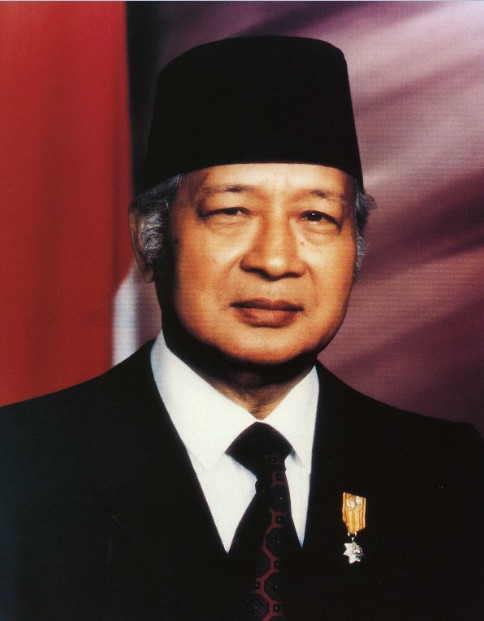 gambar presiden soeharto