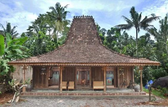 bangunan tradisional jawa