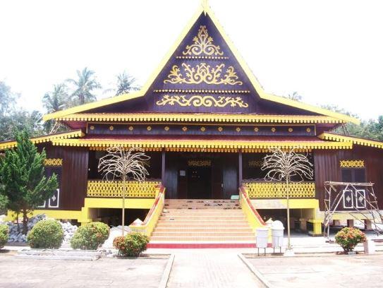 gambar rumah tradisional riau