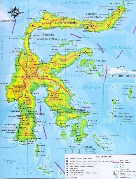 Provinsi di Sulawesi