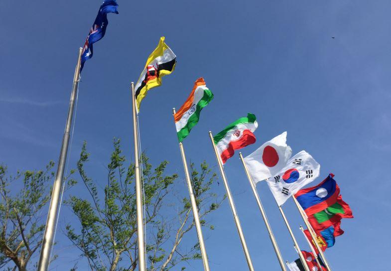 bendera negara asia