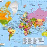 √ PETA DUNIA HD : Lengkap Dengan Nama Negara dan Benua (Ukuran Besar)