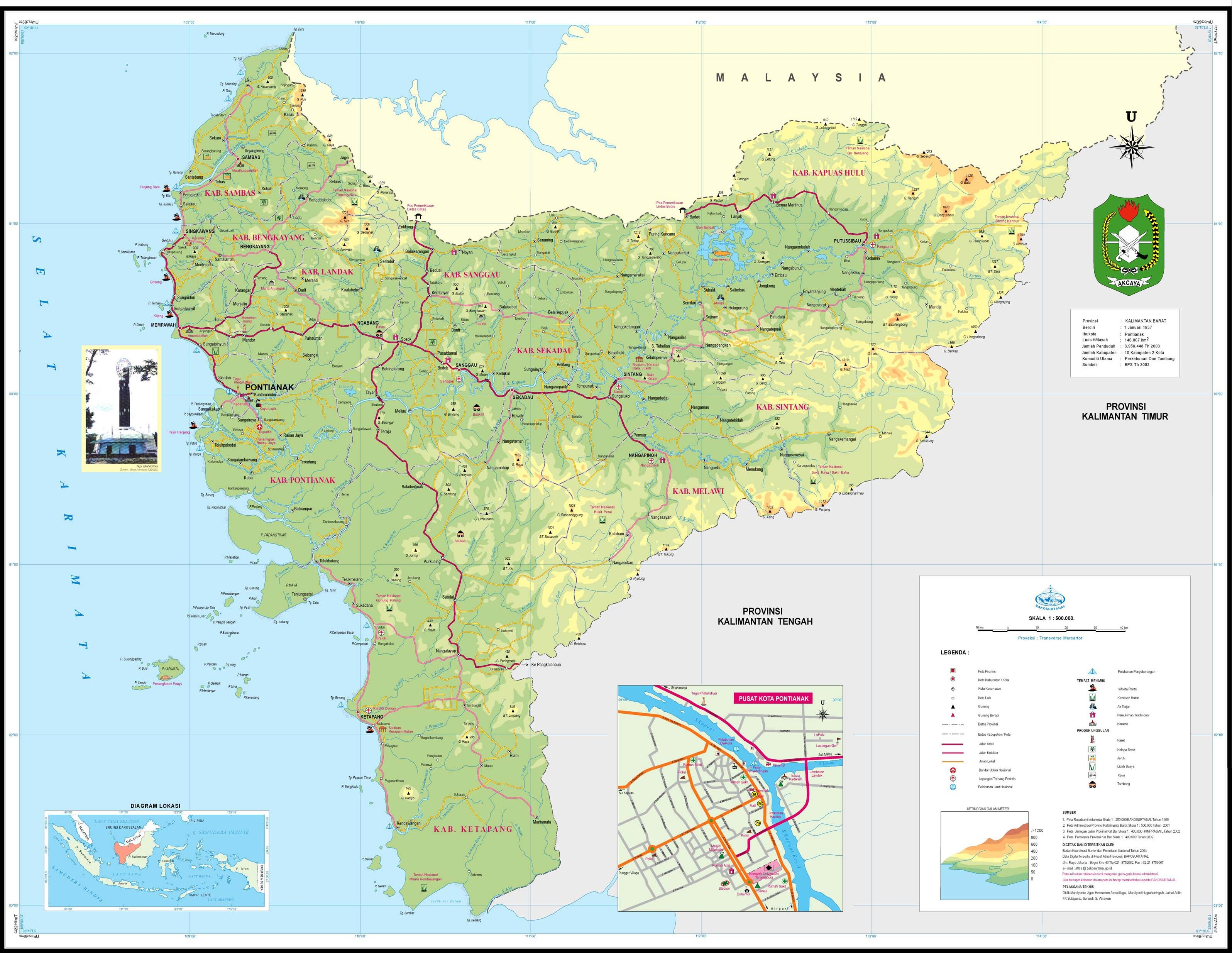 peta kalimantan hd barat timur utara selatan tengah lengkap the book peta kalimantan hd barat timur