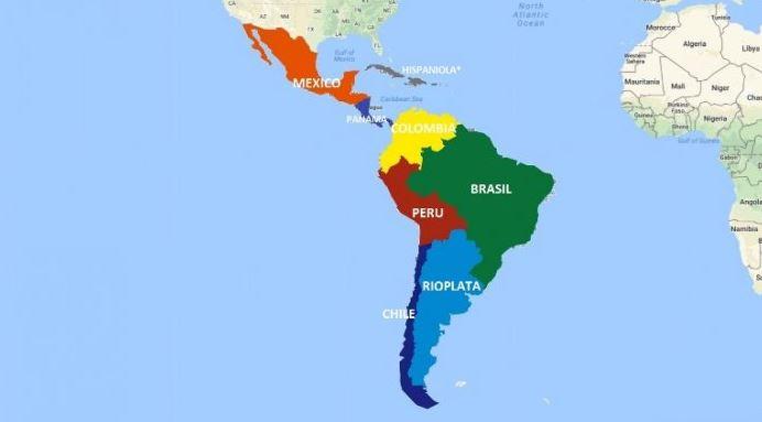 benua amerika latin
