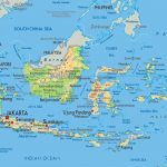 √ PETA INDONESIA HD : Gambar, Batas, Luas & Nama Provinsinya Lengkap