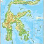 √ PETA SULAWESI HD : Barat, Selatan, Tengah, Utara & Tenggara Ukuran Besar
